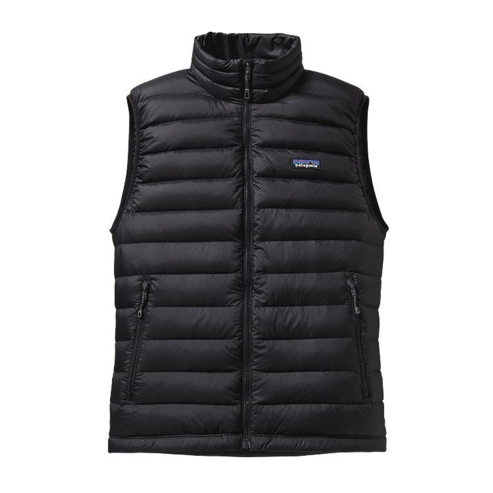 Patagonia Men's Down Sweater Vest in Black