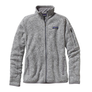 Patagonia Women's Better Sweater® Fleece Jacket  in Birch White / BCW