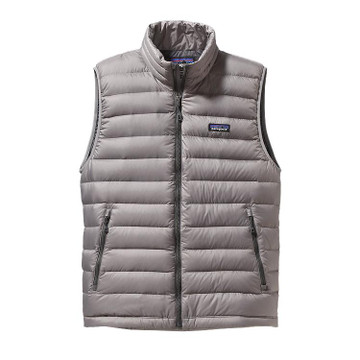 Patagonia Men's Down Sweater Vest in Feather Grey