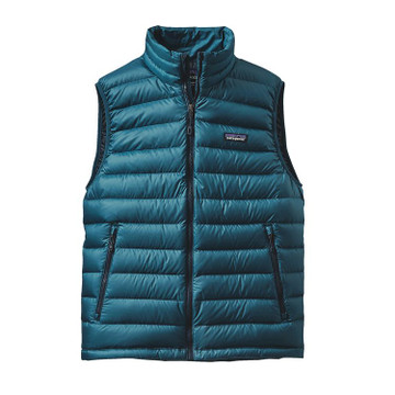 Patagonia Men's Down Sweater Vest in Deep Sea Blue