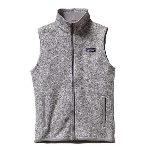 Patagonia Women's Better Sweater® Fleece Vest in Birch White