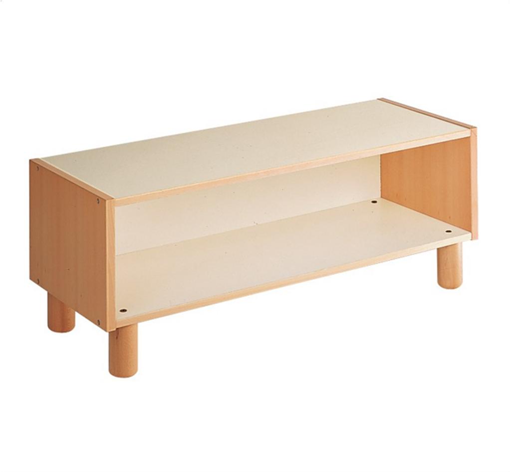 Open Cabinet 2 shelves