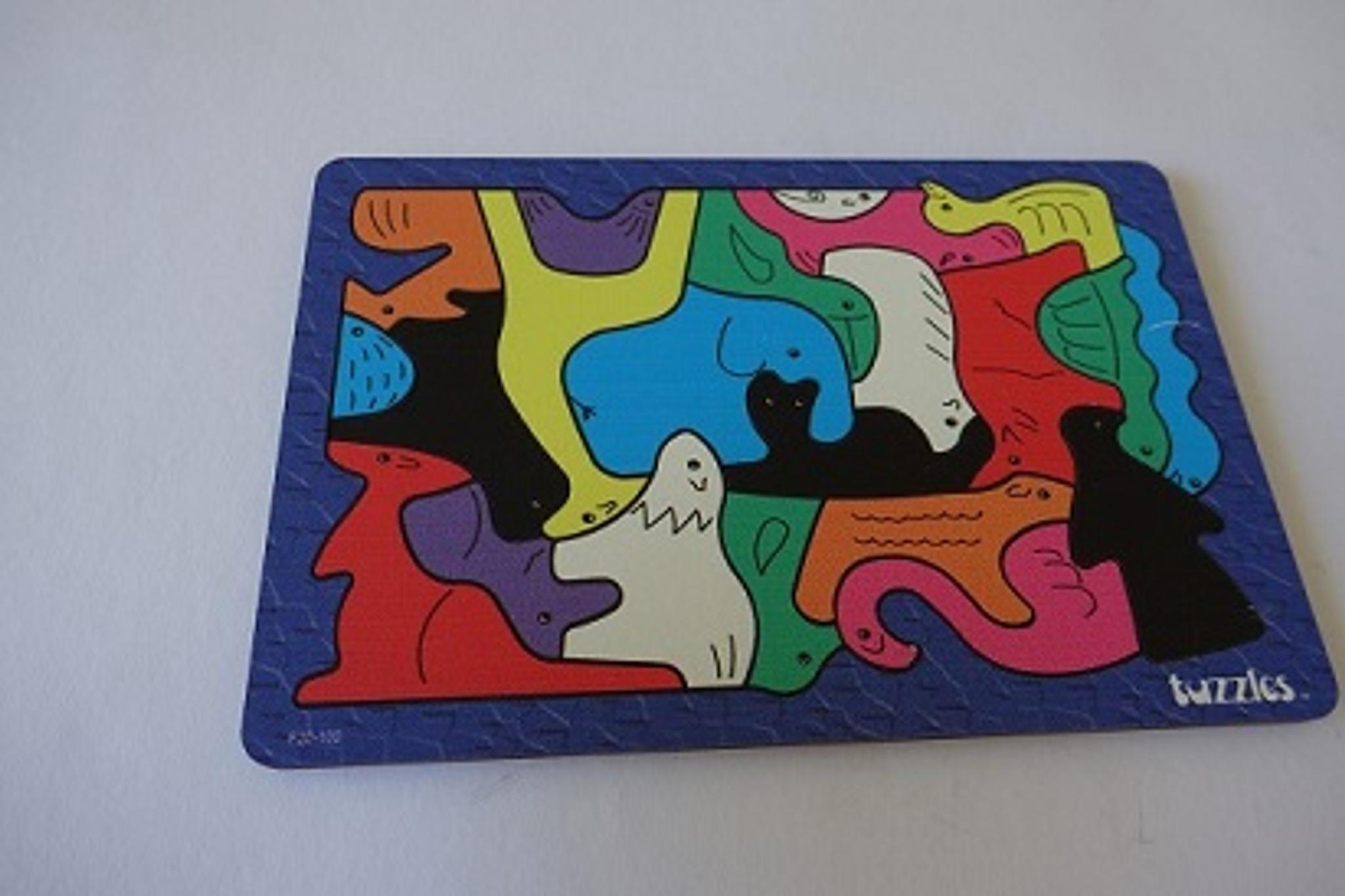 Animal Maze tray puzzle 24 pce