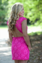 High Expectations Dress: Pink
