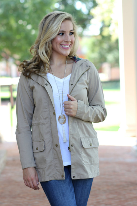 One Step Closer Jacket: Khaki