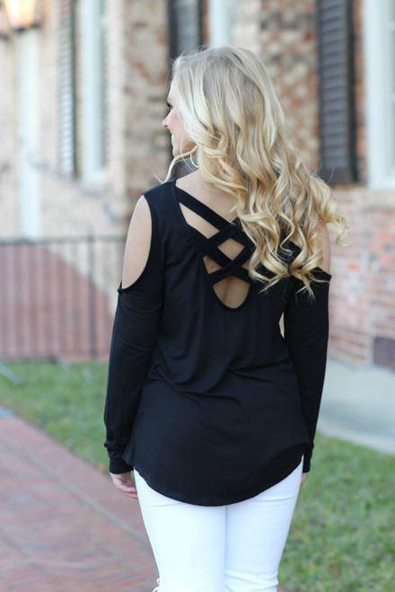 Back At You Top: Black