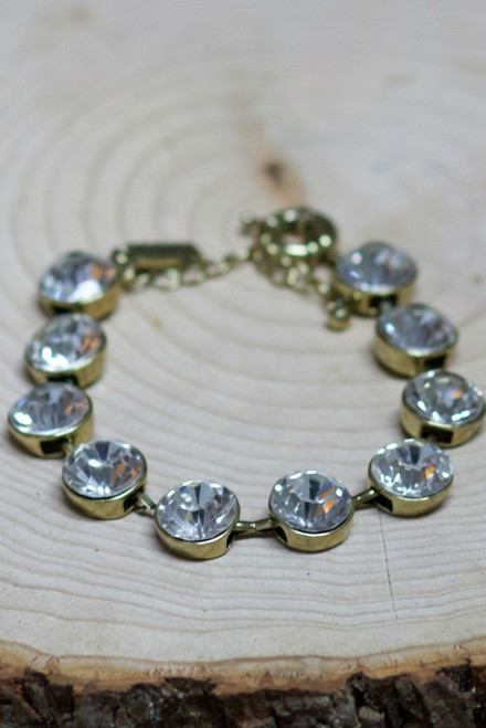 One Of A Kind Bracelet: Crystal