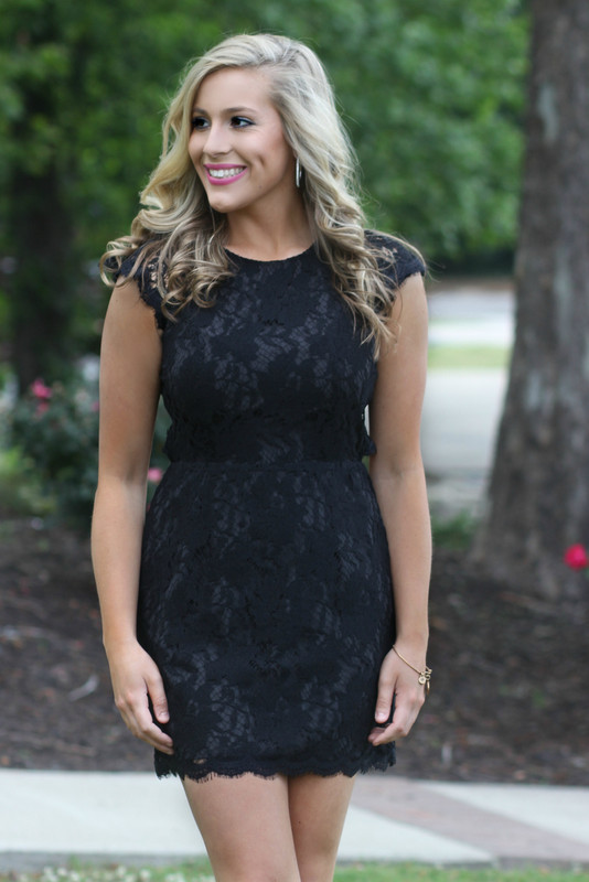 High Expectations Dress: Black