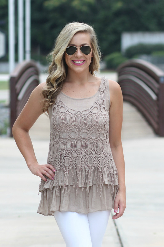 Another Day Top: Mocha