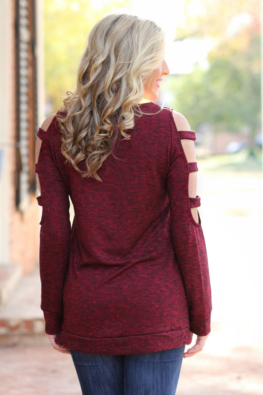 All It Takes Sweater: Wine