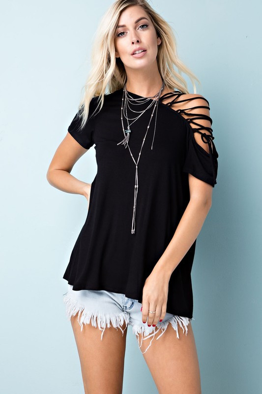 Chic Top: Black