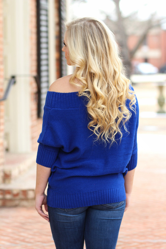 Chic Sweater: Royal