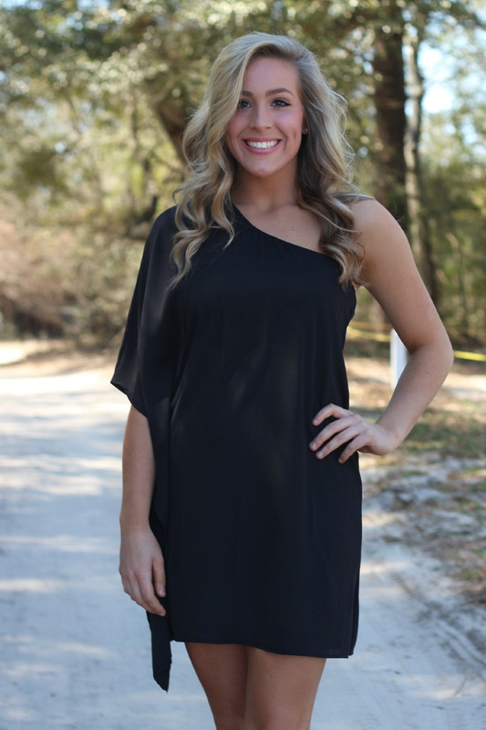 In This Moment Dress: Black