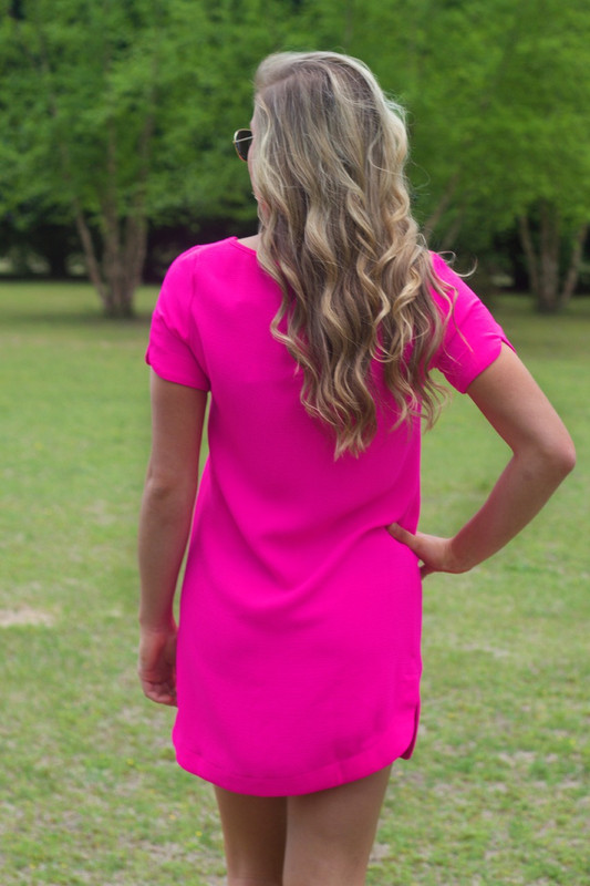 Hot Pink | Shift Dress | Boutique Dress | Lavish Boutique