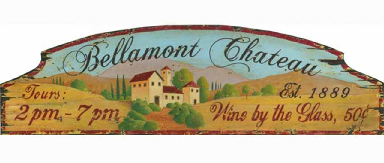 Bellamont Chateau | Red Horse Signs