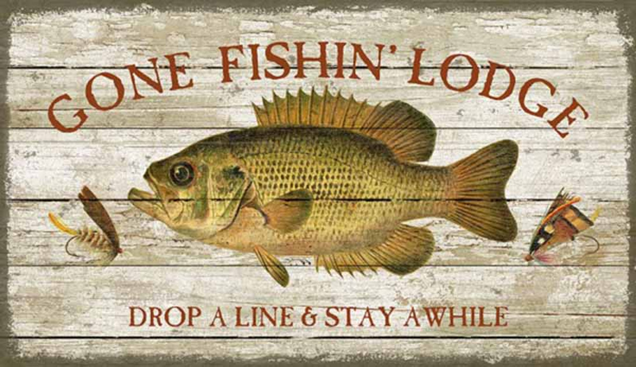 Gone Fishing | Robyns Lake House