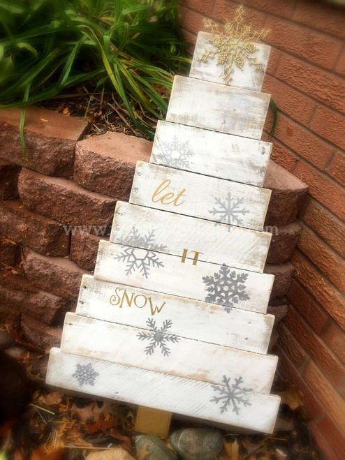 Pallet Christmas Tree - Large