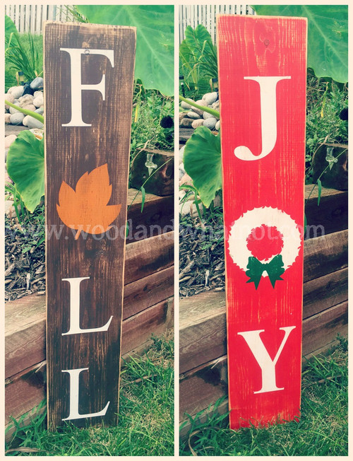 Fall/Joy Porch Sign