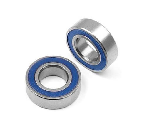 Bearings Metric Series 7x11x3 MM rubber sealed (2 Pack) (MR117 2RS)