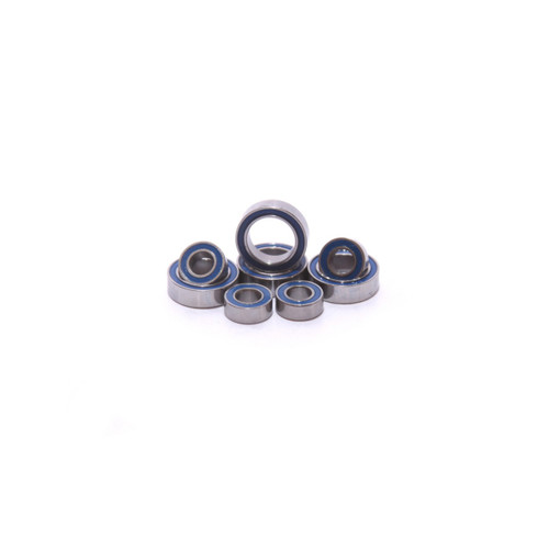 Traxxas Mini E-Revo wheel bearing kit.  Replaces all 8 bearings on the carriers.