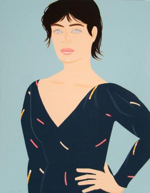 GRAY DRESS BY ALEX KATZ