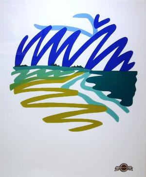 SEASCAPE (ROUND) BY TOM WESSELMANN
