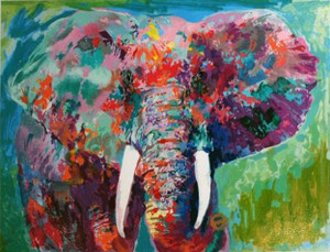CHARGING BULL BY LEROY NEIMAN