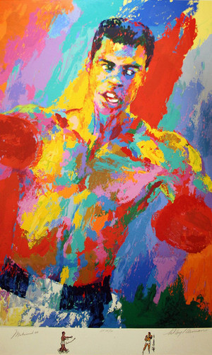 MUHAMMAD ALI-ATHLETE OF THE CENTURY BY LEROY NEIMAN