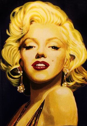 MARILYN - THE STAMP BY STEVE KAUFMAN