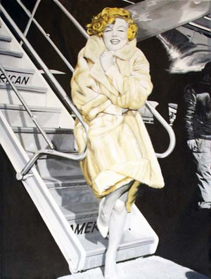 MARILYN - BABY IT'S COLD OUTSIDE! BY STEVE KAUFMAN
