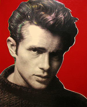 JAMES DEAN (RED) BY STEVE KAUFMAN