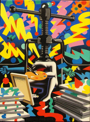 IF TIME WERE MY FRIEND BY MARK KOSTABI