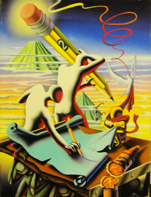 BE SHARP BY MARK KOSTABI