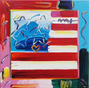FLAG 2 BY PETER MAX