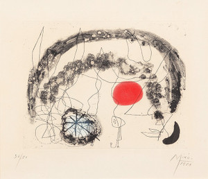 SERIES III, PLATE 5 BY JOAN MIRO