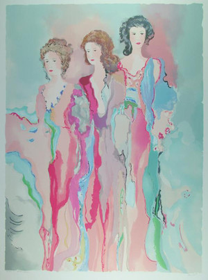 LADIES IN WAITING BY JANE BAZINET
