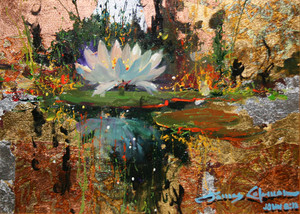 LILY REFLECTIONS BY JAMES COLEMAN