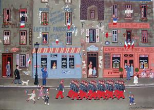 LE DEFILE DU 14 JUILLET BY MICHEL DELACROIX