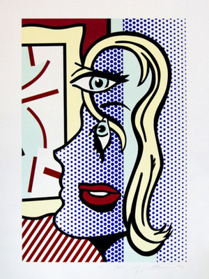 ART CRITIC BY ROY LICHTENSTEIN