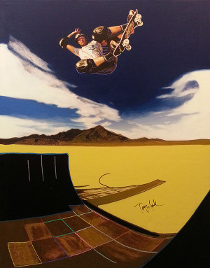 TONY HAWK BY STEVE KAUFMAN
