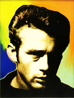 JAMES DEAN STATE I BY STEVE KAUFMAN