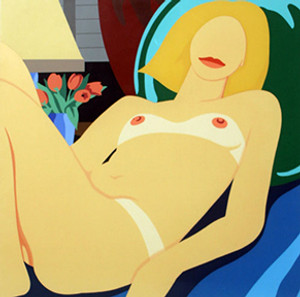 CLAIRE NUDE BY TOM WESSELMANN