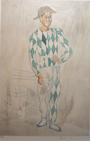 ARLEQUIN EN PIED BY MARINA PICASSO