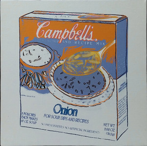 ONION SOUP BY ANDY WARHOL
