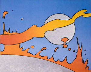 CLOSE TO THE SUN BY PETER MAX