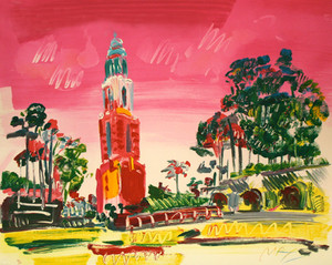 BALBOA PARK BY PETER MAX