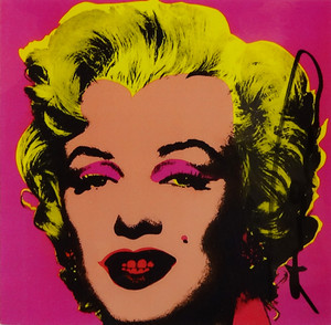 MARILYN I (ANNOUNCEMENT) BY ANDY WARHOL