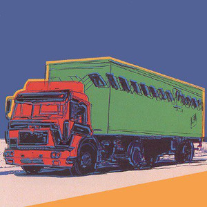 TRUCK (BLUE) FS II.368 BY ANDY WARHOL