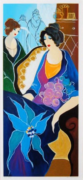 FLOWER LADY BY ITZCHAK TARKAY