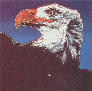 ENDANGERED SPECIES: BALD EAGLE FS II.296 BY ANDY WARHOL